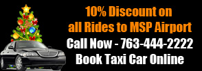 Minneapolis Holiday Taxi Discount Coupon