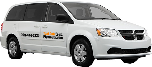 MSP Airport Taxi Cab Service from Plymouth MN